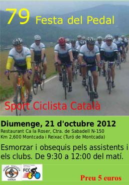Festa del Pedal 2012